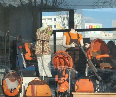 Uma montra da loja em 29 de Fevereiro de 2008