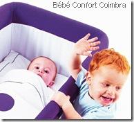 Berço Clic, bebé e irmão ruivo