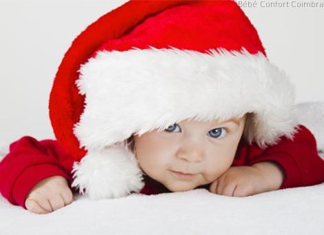 Prenda de Natal para o bebé, os pais, os avós e demais família