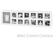 Moldura Primeiro Ano em branco Baby Art