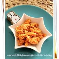 Balkabaklı bebek omleti