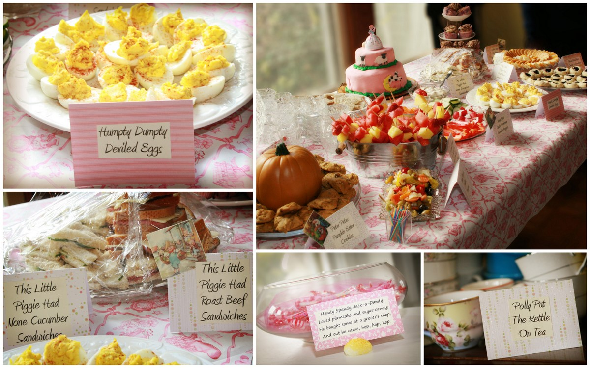 Themed Baby Shower Mother Goose