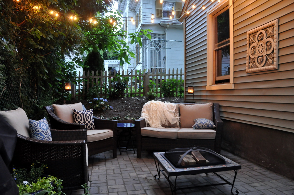 DIY Patio Makeover  bebehblog