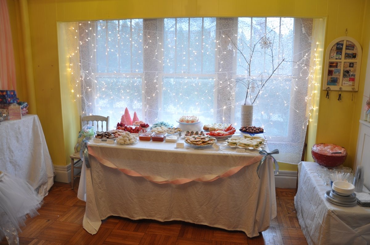 Caroline's Sparkle Snowflake First Birthday