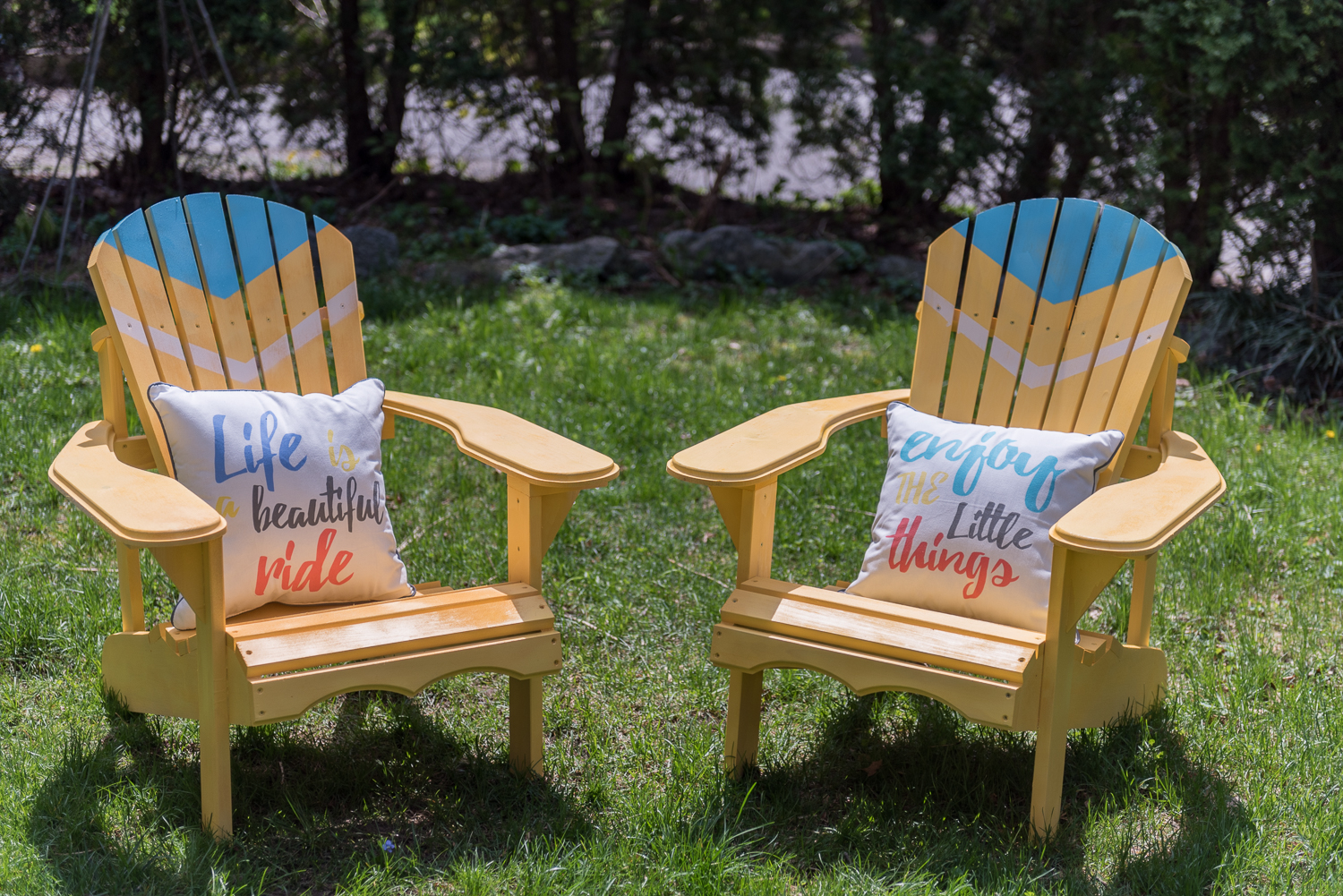 painted adirondack chairs white outdoor chair cushions home and garden archives bebehblog