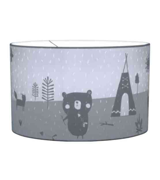 10427 Hanging Lamp Silhouette Adventure Blue On