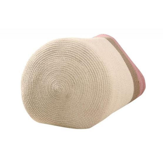 Basket Braided Cotton Bazaar Ash Rose 3