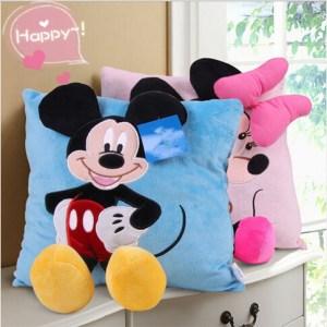 Almofada Mickey/Minnie Decorativa 3D