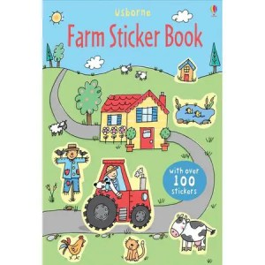 Farm Sticker Book – Usborne Books