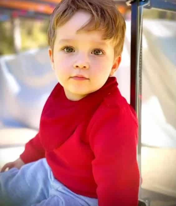 The two-year-old son of comedian Paulo Gustavo