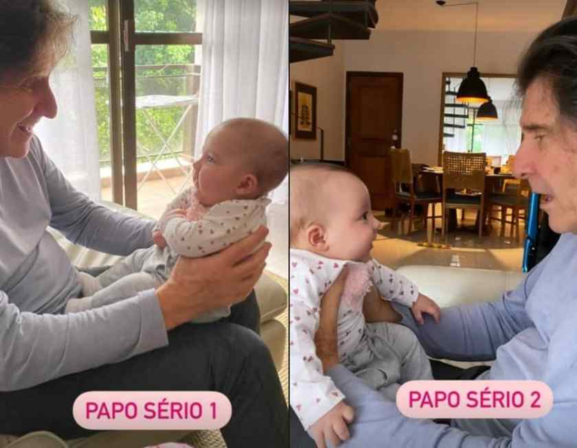 Twins of Joaquim Lopes and his grandfather