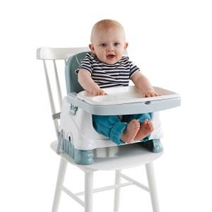 comme je suis une grande fan de mettre bebe a table des les debuts et que j ai une petite maison je n ai pas achete de chaise haute et je me suis