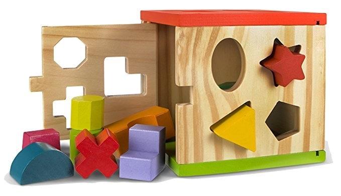ColorBaby Caja actividades de madera - 14 piezas