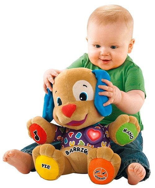 Juegos bebe 12-18 meses: Muñeco