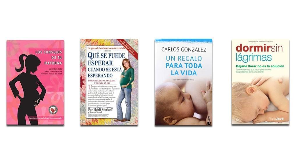 Los mejores libros para el embarazo, parto y primeros años de vida de tu bebé: 4 libros recomendados