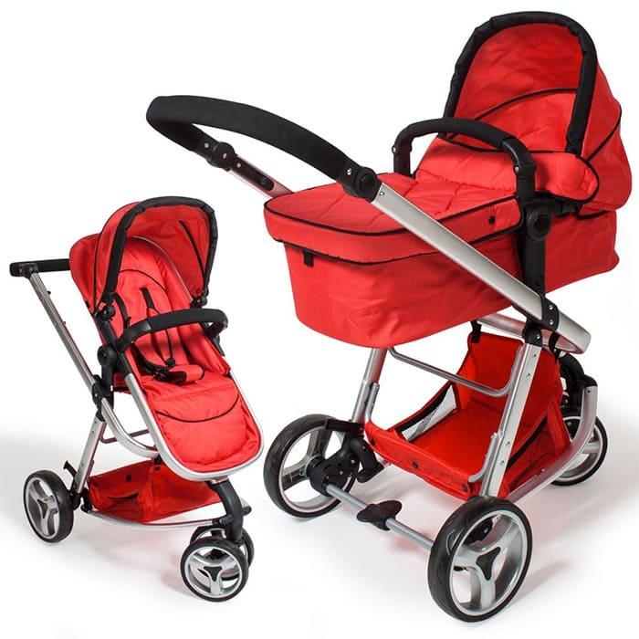 modelo TecTake, un carrito de bebé 3 en 1 convertible  y disponible en varios colores.