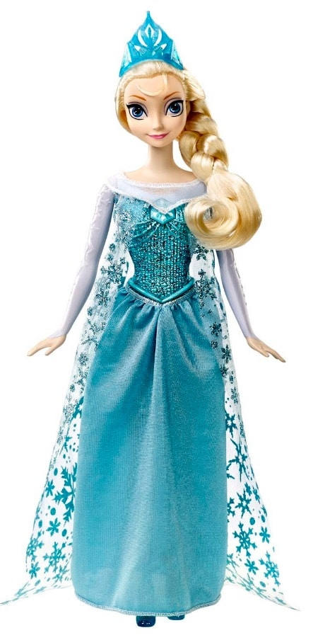 Frozen Mattel CJJ10 princesa cantarina de 33 cm