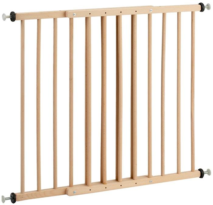 Reer KH110 - Barrera de seguridad de madera (ancho 65-110 cm)
