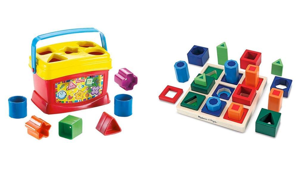 Juegos de bloques infantiles: desde los 6 meses hasta los 3, 4 años de edad
