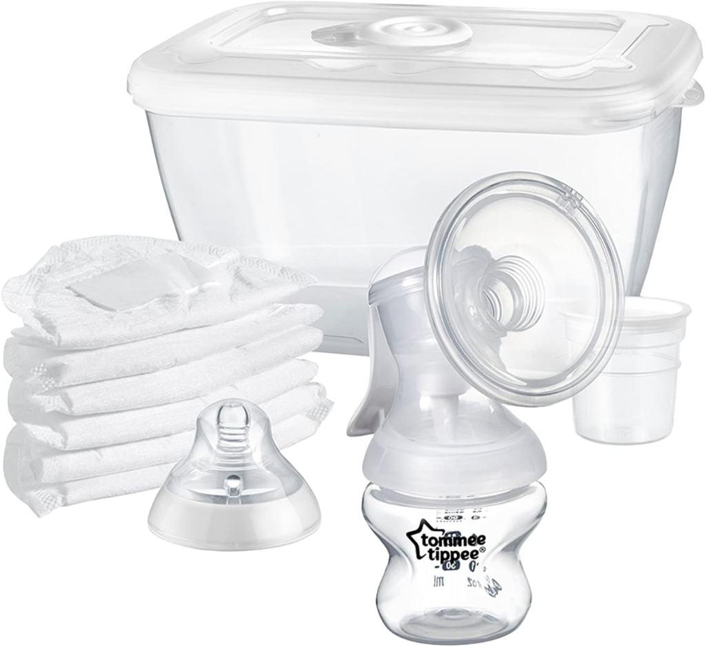 Tommee Tippee Closer to Nature - Sacaleches manual