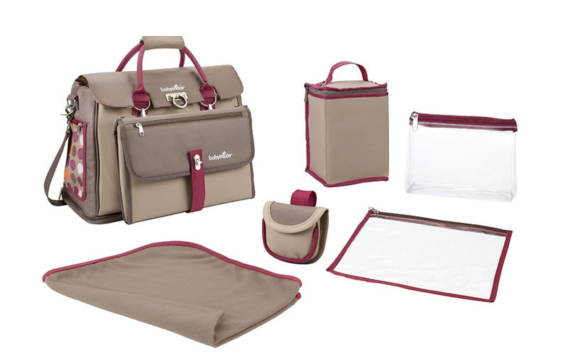 Babymoov Free Hand - Bolso maternal cambiador con accesorios