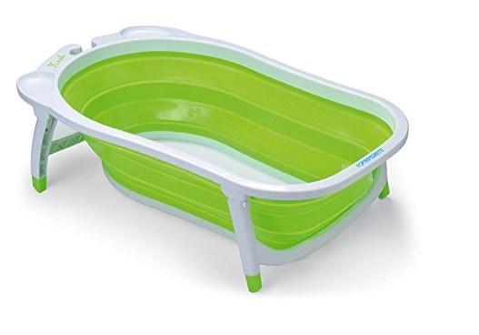 Foppapedretti Soffietto, una bañera de bebés plegable para platos de ducha