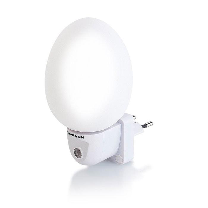 Ansmann NL4W - Luz led nocturna, luz blanca, 0,4 W