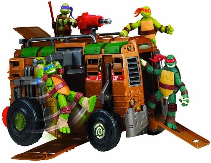 autocaravana tortugas ninja