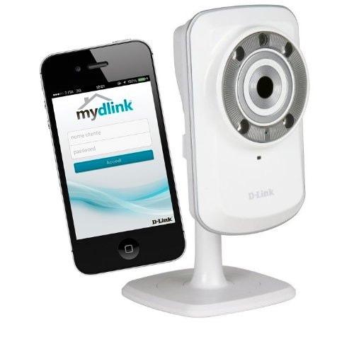 D-Link DCS-932L - Cámara de vigilancia