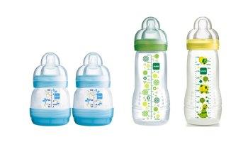 Biberones y tetinas MAM Babyartikel: una buena opción (barata) para evitar los cólicos del lactante