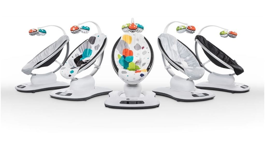 4moms mamaRoo Plush - La hamaca eléctrica que vas a querer comprar