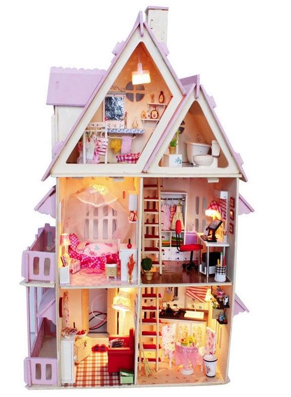 Dónde comprar casas de muñecas a buen precio y mucho más baratas que en España