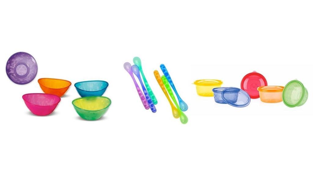 Recipientes, cuencos y cucharas para papillas por menos de 10 euros