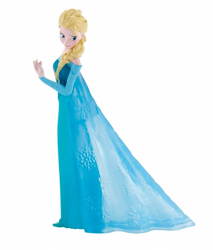 Figuras pintadas a mano de la película Frozen (Bullyland)