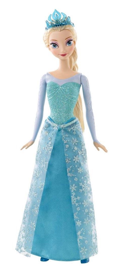 muñeca de Frozen Elsa purpurina (Mattel MATCFB73)