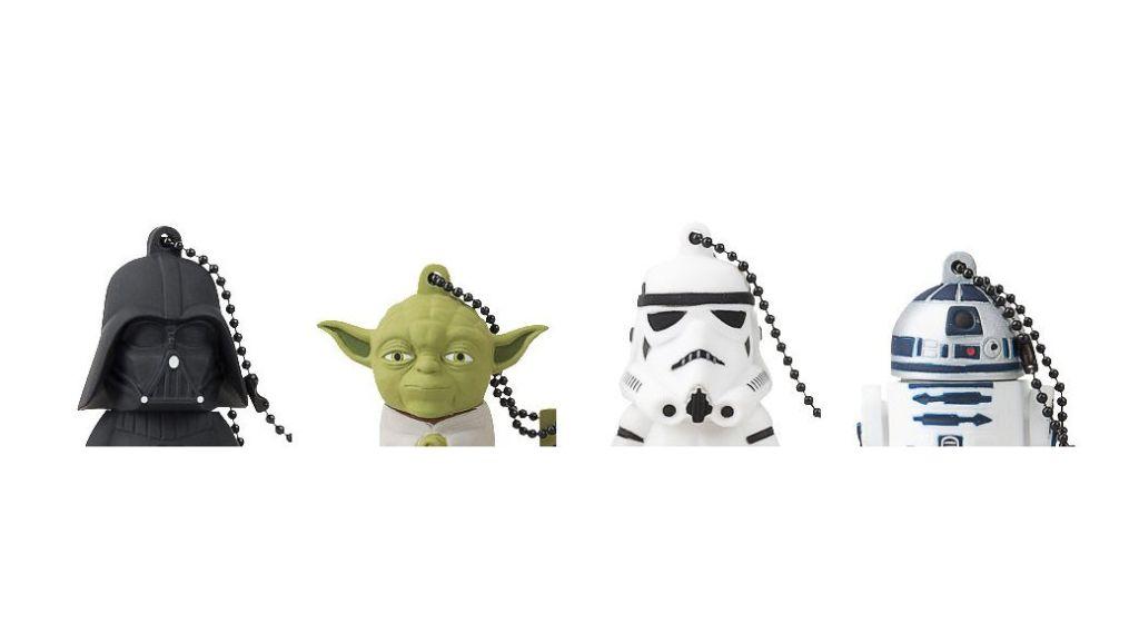 Tribe Star Wars Pendrives - Memorias USB de goma rebajadas de precio en la semana de la electrónica de Amazon España