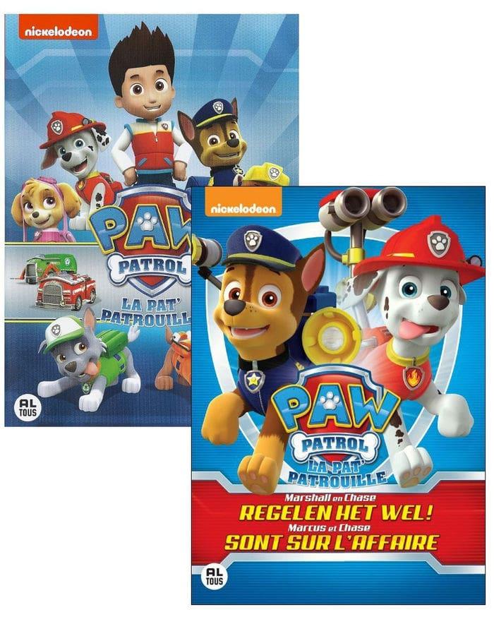 DVDs de La Patrulla Canina (Paw Patrol) rebajados de precio