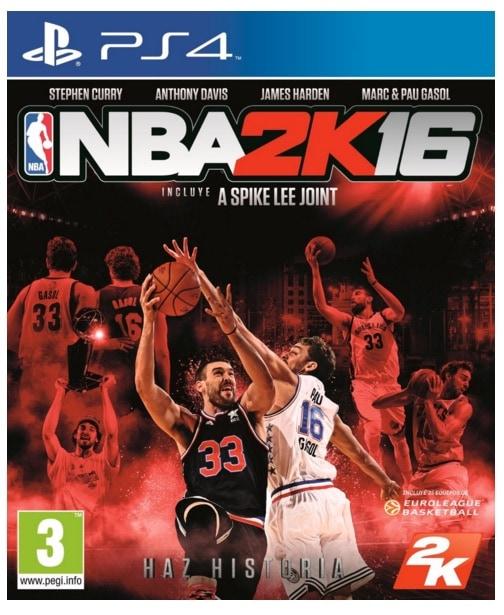 ¿Qué videojuegos infantiles están teniendo mucho tirón estas navidades 2015? NBA2K16