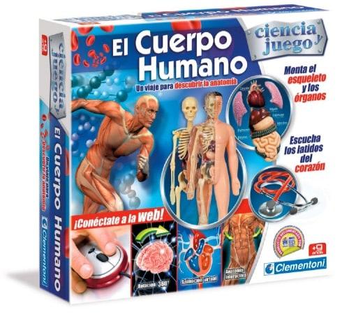 Juguetes STEM de Ciencia: Clementoni - El Cuerpo Humano