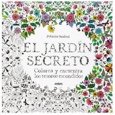 El Jardin secreto: libro para colorear
