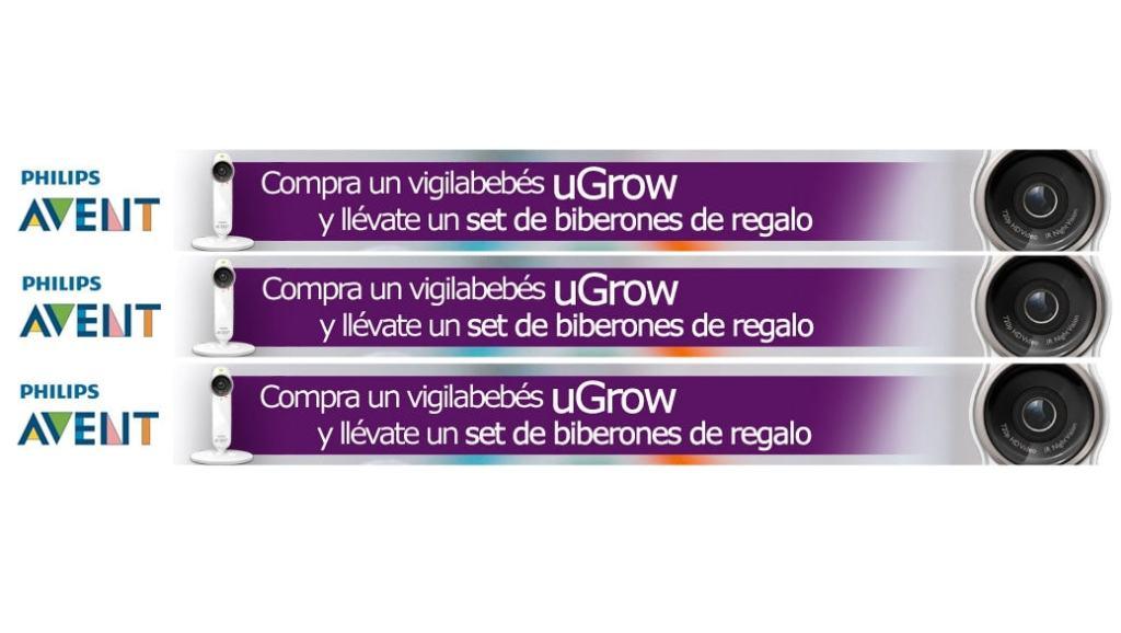 Promoción: Vigilabebés Philips Avent uGrow Smart + Set básico para recién nacido gratis