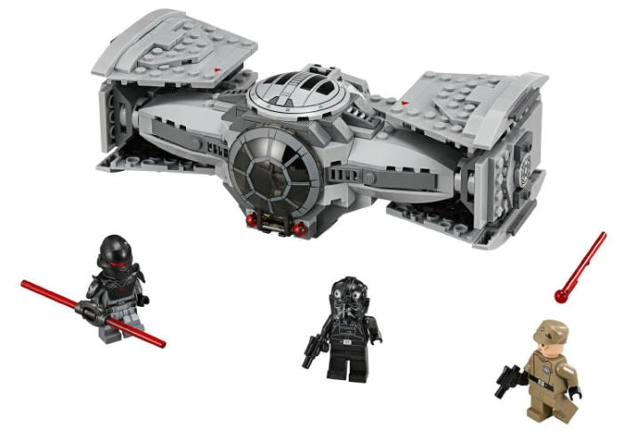 LEGO Star Wars - Tie advanced prototype, juego de construcción (75082)