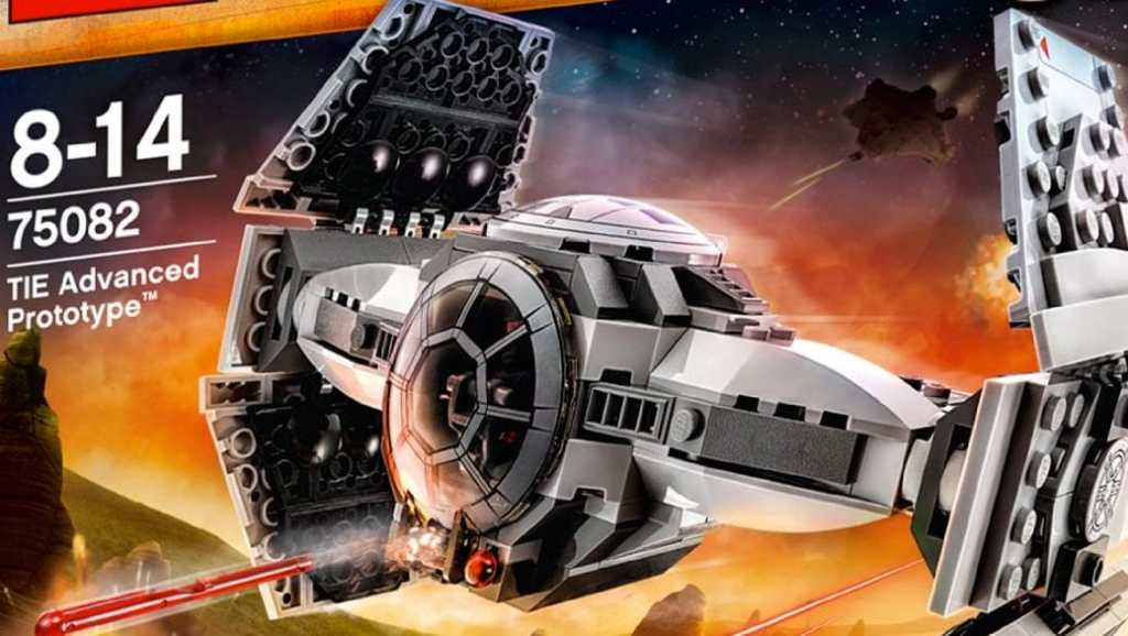 LEGO Star Wars - Tie advanced prototype - Construye tu caza imperial