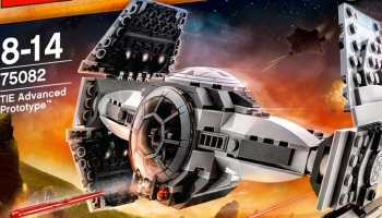 LEGO Star Wars - Tie advanced prototype - Construye tu caza imperial