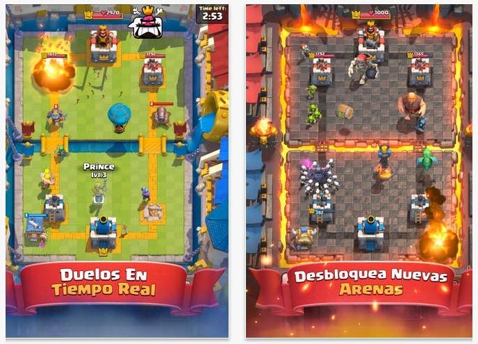 Clash Royale - Juego iOS - Android