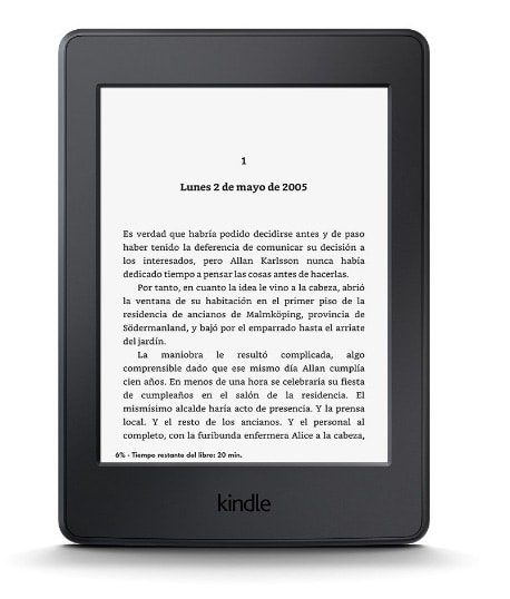 ereader Kindle Paperwhite: Regalo día de la madre