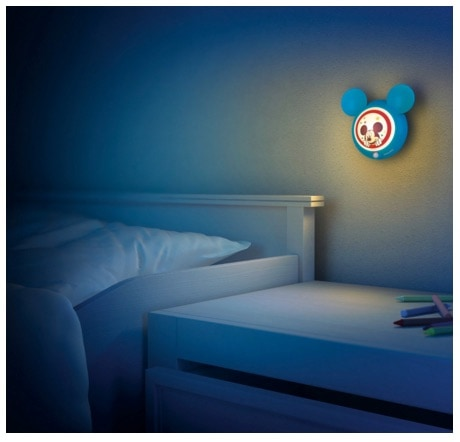 Luz nocturna con sensor LED Philips Disney Mickey