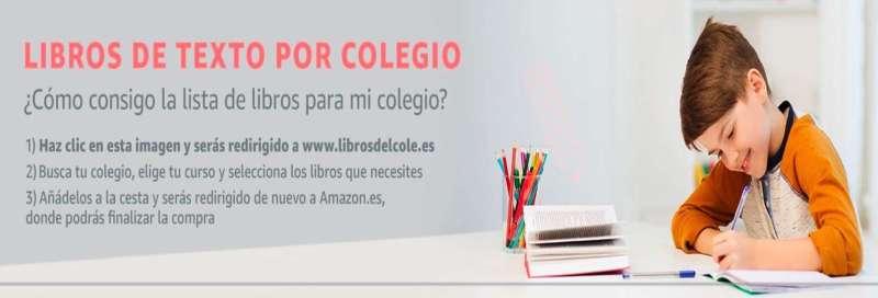 Vuelta al cole: Libros de texto por colegios