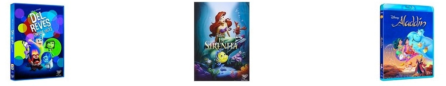 2x1 en una selección de películas Disney