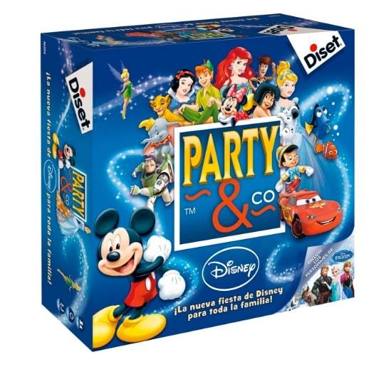 97780795a5cb 5.-Party & Co con personajes Disney: mejor juego de mesa para niños  pequeños. party_co_con_personajes_disney